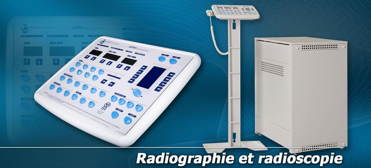 Radiographie et radioscopie